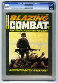 Magazines:Miscellaneous, Blazing Combat #3 (Warren, 1966) CGC VF 8.0 Cream to off-whitepages. Frank Frazetta cover art. Joe Orlando, Gene Colan, and...