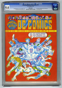 Amazing World of DC Comics #11 (DC, 1976) CGC NM 9.4 White pages. Previously unpublished Secret Society of Super-Villain...