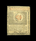 Colonial Notes:Rhode Island, Rhode Island July 2, 1780 $1 About New. Some handling is found atcenter....