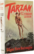 Books:First Editions, Edgar Rice Burroughs: Tarzan and the Foreign Legion.(Tarzana, California: Edgar Rice Burroughs, Inc. Publishers,1947),...