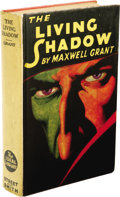 Books:First Editions, Maxwell Grant: Author's Personal Copy of The Living Shadow.(New York: Street and Smith Publications, Inc., 1931), first...