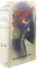Books:First Editions, Edmond Hamilton: Horror on the Asteroid. (London: PhilipAllan, 1936), first edition, 256 pages, green cloth with black ...