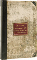 Books:Non-American Editions, Ezekiel Baker: Remarks on Rifle Guns; Being the Result ofUpwards of Fifty Years' Practice and Observation: with Speci...