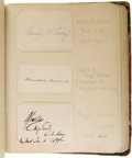 Autographs:Military Figures, Amazing Autograph Collection from the Spanish-American War Period, including two presidents and most of the important office...