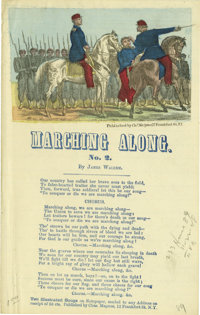 Civil War Era Ephemera Collection. Approximately 40 printed items from the 1860s and 1870s, many with military associati...