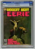 Magazines:Horror, Eerie #87 (Warren, 1977) CGC NM/MT 9.8 Off-white to white pages....