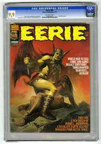 Eerie #80 (Warren, 1977) CGC MT 9.9 Off-white pages. This lot may well be the highlight of the sensational run of Warren...