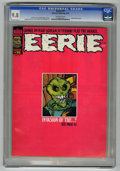 Magazines:Horror, Eerie #75 (Warren, 1976) CGC NM/MT 9.8 Off-white pages. ...