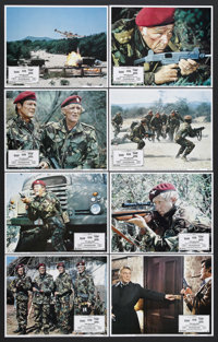 """The Wild Geese (Allied Artists, 1978). Lobby Card Set of 8 (11"""" X 14""""). Action. Starring Richard Burton, Roger..."""