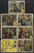 """Movie Posters:Adventure, The Three Musketeers (20th Century Fox, 1939). Lobby Card (11"""" X14""""). Adventure/Comedy. Starring Don Ameche and the Ritz Br...(Total: 7 Items)"""
