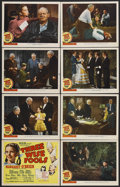 """Movie Posters:Comedy, Three Wise Fools (MGM, 1946). Lobby Card Set of 8 (11"""" X 14"""").Comedy/Drama. Starring Margaret O'Brien, Lionel Barrymore, Le...(Total: 8 Items)"""