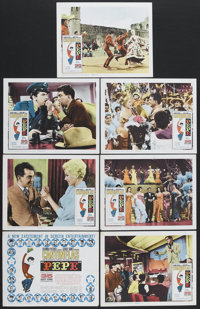 """Pepe (Columbia, 1960). Title Lobby Card (11"""" X 14"""") and Lobby Cards (6) (11"""" X 14""""). Comedy. Starrin..."""
