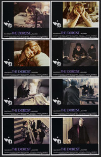 "The Exorcist (Warner Brothers, 1973). Lobby Card Set of 8 (11"" X 14""). Horror. Starring Linda Blair, Ellen Bur..."