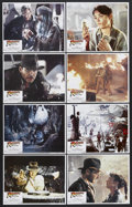"""Movie Posters:Adventure, Raiders of the Lost Ark (Paramount, 1981). Lobby Card Set of 8 (11""""X 14""""). Adventure. Starring Harrison Ford, Karen Allen, ... (Total:8 Items)"""