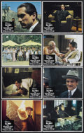"Movie Posters:Academy Award Winner, The Godfather Part II (Paramount, 1974). Lobby Card Set of 8 (11"" X14""). Crime Drama. Starring Al Pacino, Robert Duvall, Di... (Total:8 Items)"