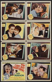 "You Can't Buy Everything (MGM, 1934). Lobby Card Set of 8 (11"" X 14""). Drama. Starring May Robson, Jean Parker..."