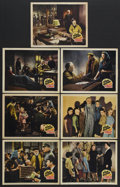 """Movie Posters:Drama, The Pied Piper (20th Century Fox, 1942). Lobby Cards (7) (11"""" X 14""""). War Drama. Starring Monty Wooley, Roddy McDowall, Anne... (Total: 7 Items)"""