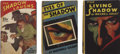 "Books:First Editions, Maxwell Grant [pseudonym of Walter B. Gibson]. Three First Edition""Shadow"" Novels, including: The Living Shadow... (Total: 3Items)"