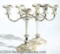 Autographs, Two Candelabras