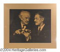 Autographs, Harry Blackstone Sr. Large Matted Photograph