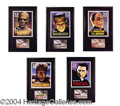 Autographs, Commemorative Monster Display Lot