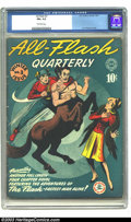 Golden Age (1938-1955):Superhero, All-Flash #3 (DC, 1941) CGC FN+ 6.5 Off-white pages. Very nice copy of this early issue of this classic Golden Age title. Ov...