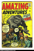 Silver Age (1956-1969):Horror, Amazing Adventures #1 (Marvel, 1961) Condition: VG-. Origin of Dr.Droom, the first Marvel-Age superhero. Overstreet 2003 VG...