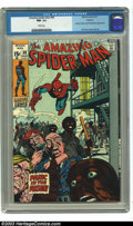 Bronze Age (1970-1979):Superhero, Amazing Spider-Man #99 Oakland pedigree (Marvel, 1971) CGC NM- 9.2 White pages. Johnny Carson and Ed McMahon appearance. Gil...
