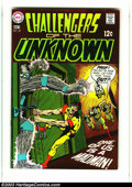 Silver Age (1956-1969):Adventure, Challengers of the Unknown Group (DC, 1969-71) Condition: Average VF. This lot consists of issues #68-73, 76, and 77. Overst... (Total: 8 Comic Books Item)