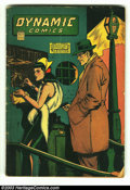 Golden Age (1938-1955):Superhero, Dynamic Comics #15 (Chesler, 1945) Condition: GD/VG. The Sky Chief appearance. Overstreet 2003 GD 2.0 value = $46; VG 4.0 va...