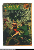Golden Age (1938-1955):Superhero, Dynamic Comics #16 (Chesler, 1945) Condition: FR. Marijuana story. Spine splits and back cover detached. Overstreet 2003 GD ...