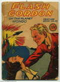 Golden Age (1938-1955):Science Fiction, Flash Gordon Feature Book #25 (Dell, 1941) Condition: FR. Firstissue. Overstreet 2003 GD 2.0 value = $90....