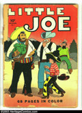 Golden Age (1938-1955):Humor, Four Color #1 Little Joe (Dell, 1942) Condition: FR. Rarely seen first issue. Spine is totally spilt. Overstreet 2003 GD 2.0...