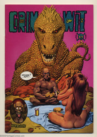 Grim Wit #2 First printing (Last Gasp, 1973) Condition: VF. One of Richard Corben's early comic book works, this also ha...