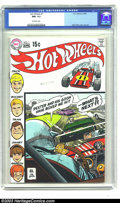 Bronze Age (1970-1979):Miscellaneous, Hot Wheels #1 (DC, 1970) CGC NM- 9.2 Off-white pages. Alex Tothcover and art. Only three copies of this issue have earned a...