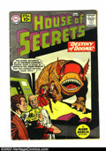 Silver Age (1956-1969):Mystery, House of Secrets Group (DC, 1961-66). This lot consists of issues#45 (GD); 70 (FN-); 73 (VG); 79 (FN). Overstreet 2003 valu...(Total: 4 Comic Books Item)