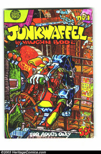 Junkwaffel Group (Print Mint, 1971-72) Condition: VF/NM. Three great issues of classic Vaughn Bode. Values for Undergrou...