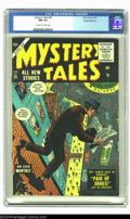 Golden Age (1938-1955):Horror, Mystery Tales #28 White Mountain pedigree (Atlas, 1955) CGC NM 9.4Off-white to white pages. An unreal copy of an issue that...