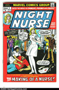 Bronze Age (1970-1979):Romance, Night Nurse #1 (Marvel, 1972) Condition: FN-. First issue of arelatively scarce title. Overstreet 2003 FN 6.0 value = $33. ...