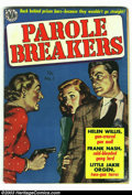 Golden Age (1938-1955):Crime, Parole Breakers Group (Avon, 1951-52). This group consists of issues #1 (apparent VG- color touch), 2 (VG), and 3 (GD/VG). I... (Total: 3 Comic Books Item)