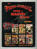 Books:Reference, Photo-Journal Guide to Marvel Comic Books, The Two Volume HardbackSet (Gerber Publishing, 1991) Condition: VF/NM. These bea...