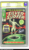 The Silver Surfer #1 (Marvel, 1968) CGC FR/G 1.5 Off-white pages. Signature Series. John Buscema and Gene Colan art. Ori...