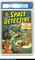 Golden Age (1938-1955):Science Fiction, Space Detective #1 (Avon, 1951) CGC VG 4.0 Cream to off-whitepages. Wally Wood cover and art. Drug story. Overstreet 2003 V...