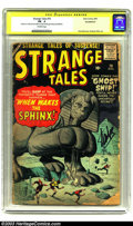 Silver Age (1956-1969):Adventure, Strange Tales #70 (Marvel, 1959) CGC PR .5 Off-white pages. Signature Series. Paul Reinman and Steve Ditko art. Prototype is...
