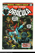Bronze Age (1970-1979):Horror, Tomb of Dracula #13 (Marvel, 1973) Condition: FN/VF. Origin of Blade. Overstreet 2003 FN 6.0 value = $15; VF 8.0 value = $38...