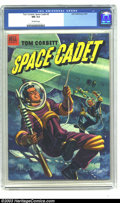 Golden Age (1938-1955):Science Fiction, Tom Corbett Space Cadet #5 (Dell, 1953) CGC NM 9.4 Off-white pages.Painted cover. Tied with one other copy for highest-grad...