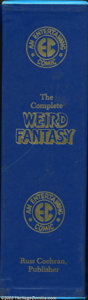 Books:Hardcover, Weird Fantasy Hardback Volume #1-4 Group (Russ Cochran, 1980). Thislot consists of all four volumes in their original slipc...