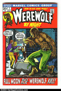 Bronze Age (1970-1979):Horror, Werewolf by Night #1 (Marvel, 1972) Condition: VF/NM. Wolfy getshis own title. Continued from Marvel Spotlight #4. Over...