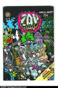 Modern Age (1980-Present):Alternative/Underground, Zap Comix 5-2 (Apex Novelties, 1970) Condition: VF. Secondprinting. Robert and Charles Crumb artwork....