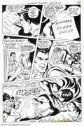 Original Comic Art:Panel Pages, Ross Andru and Mike Esposito - Original Art for World's Finest #181, page 17 (DC, 1968). Batman and Superman fight over the ...
